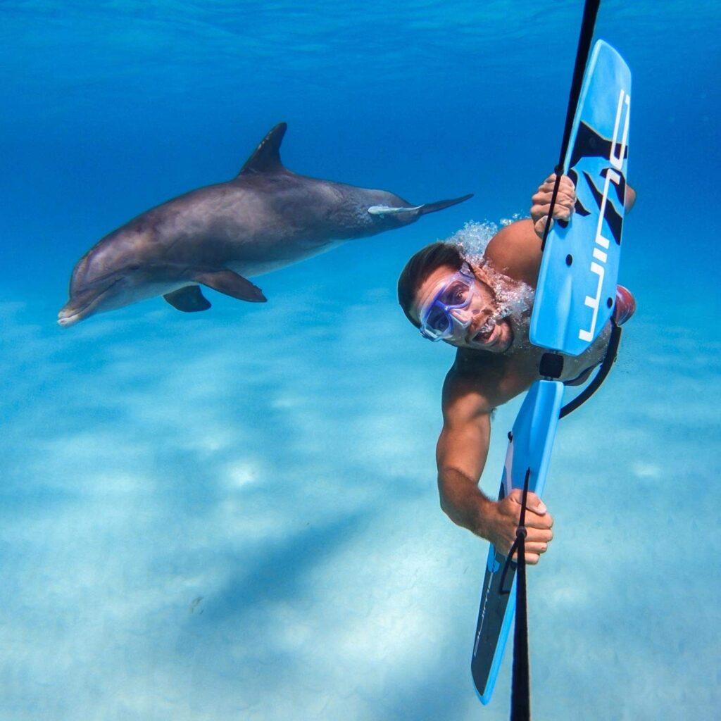 Underwater Wakeboard